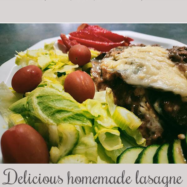 Lasagne with veggies instead of pasta